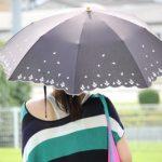 日傘 晴雨兼用の効果は?雨は大丈夫? お手入れ方法は?